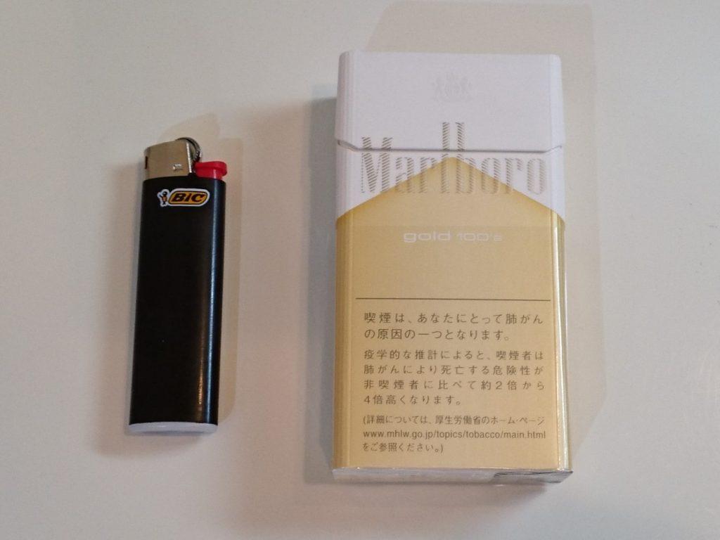 煙草は今でも20本/日